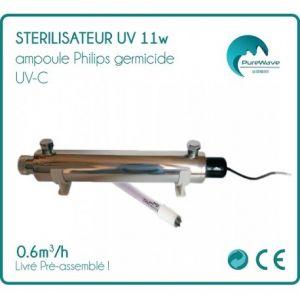 Desineo Stérilisateur UV 11w ampoule Philips -