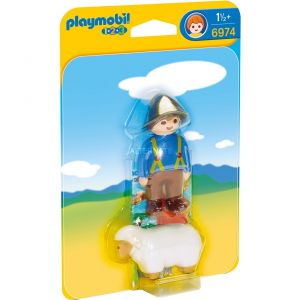 Playmobil 6974 - Berger avec mouton 1.2.3.