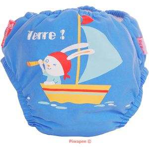 Piwapee Maillot de bain couche (3-6 mois / 4-8 kg)