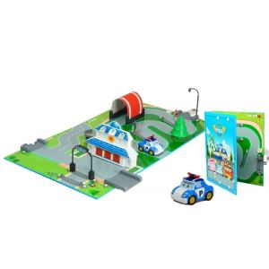 Ouaps Robocar Poli : Aire de jeu Quartier Général 3D