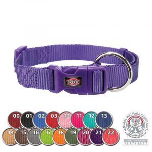 Trixie Collier Premium taille L-XL . couleur violet. pour chien.