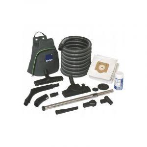 Aldes Accessoires aspirat. central. - Cleanning Set C.Booster/C.Cleaner - 11071093 Kits complets d'accessoires de nettoyage fournis avec la housse. Les accessoires sont livrés dans un sac de rangement intégrant une fonction crochet pour ranger le flexible
