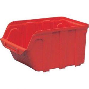 Viso Bac à bec en polypropylène 240x128x150mm rouge