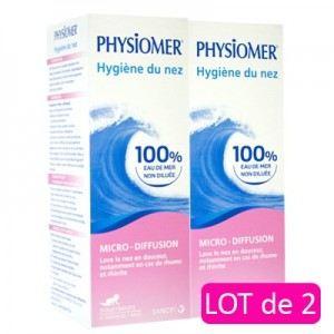 Physiomer Hygiène nasale micro-diffusion pour nourissons (2 x 115 ml)