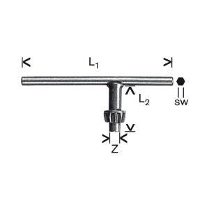 Bosch 1607950041 - Clé de mandrin type A