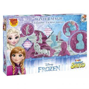 Sable magique un hiver magique La Reine Des Neiges