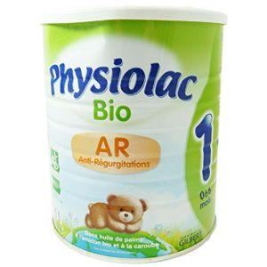 Physiolac Lait Bio Anti-Régurgitation 1er âge 800 g - de 0 à 6 mois