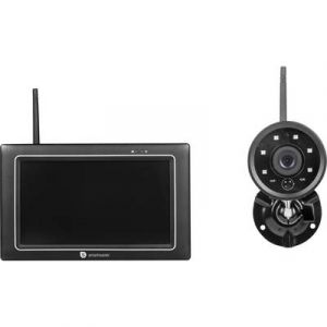 Smartwares Set caméras de surveillance CMS-31098 avec 1 caméra 2.4 GHz 1 pc(s)