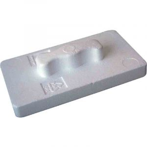 Outibat Taloche polystyrène expansé - Dimensions 27 x 15 cm