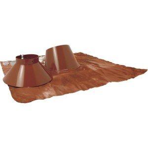 Ten Solin inox 30° à 45° brun BIOTEN + collet 125