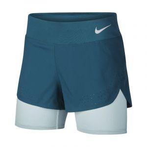 Nike Short de running 2-en-1 Eclipse pour Femme - Bleu - Taille XL - Female