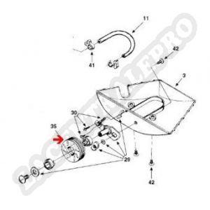 Procopi 1001003 - Petite roue de Polaris 180-280