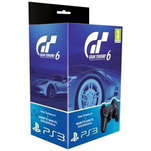 Gran Turismo 6 + Manette Dual Shock 3 pour PS3 [PS3]