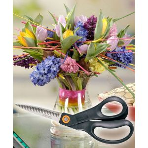 Fiskars 111010 - Ciseaux de jardin à fleurs