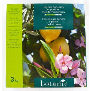 Engrais 3kg agrumes et plantes mediterranéennes