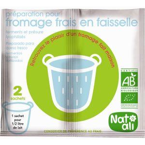 Natali Ferment Préparation Fromage Frais 2x6g