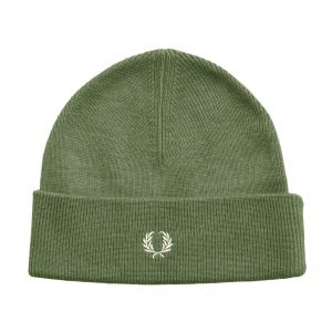 Fred Perry Merino Wool bonnet olive