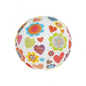 Incidence Abat-jour pour lustre boule Japonaise à fleurs Beatnik