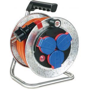 Brennenstuhl Enrouleur Garant S kompakt IP 44, 10m/190mm, XYMM 3G1.5