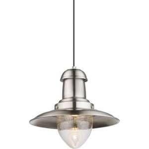 Globo Lighting Suspension en nickel mat 136x33x33cm - Suspension nickel mat Verre - A:330 - H:1360 - Ampoule non incluse 1xE27 60W 230V