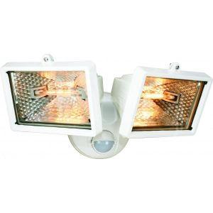 Elro ES120/2 - Double projecteur Eco-Halogène avec détecteur de mouvement 2 x 120 W