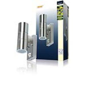 Ranex 5000.257 - Applique double Arezzo avec détecteur de mouvement