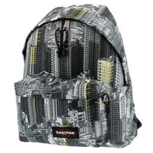 Eastpak Padded Pak'r Urban Yellow - Gris Anthracite foncé