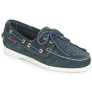 Sebago Chaussures bateau DOCKSIDES SUEDE bleu - Taille 41