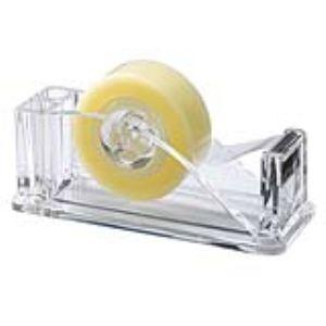 Image de DEV35C - Dévidoir de table cristal transparent (33 m)