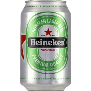 Heineken Bière blonde de prestige - La boîte de 33cl