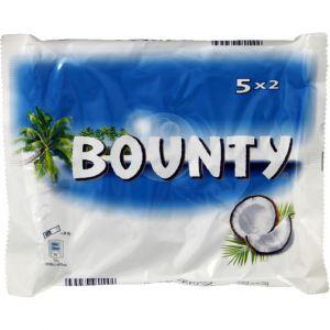Bounty Barre au chocolat pur beurre de cacao fourré de noix de coco - Le paquet de 285g
