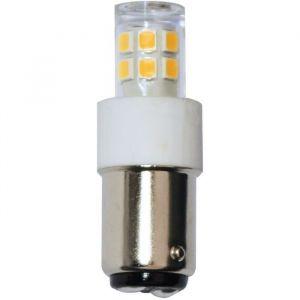 Tibelec Ampoule LED B15 2.5W 245lm 230V pour machine à coudre