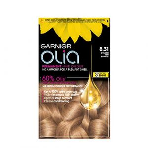 Garnier Permanent Hair Dye Olia 8.31 Golden Ash Blonde