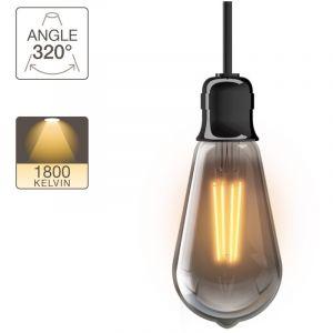 Xanlite Ampoule LED ST64, culot E27, 4W cons. (23W eq.), lumière blanc chaud