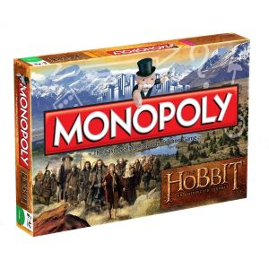 Winning Moves Monopoly The Hobbit (version anglais)