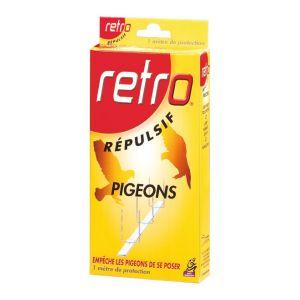 Rétro Répulsif pigeons étui de 6 bandes 15 cm