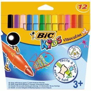 Bic Pochette de 12 feutres Visacolor XL