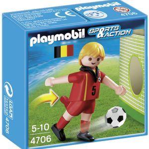 Playmobil 4706 Sports et Action - Equipe de Belgique