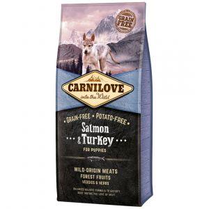 Carnilove Puppy Salmon & Turkey - Sac 12 kg