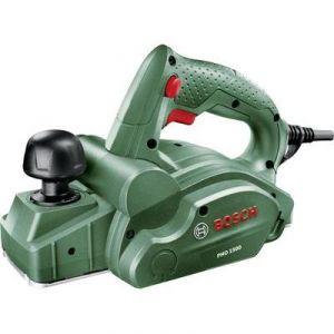 Bosch PHO 1500 - Rabot filaire 550W Profondeur de coupe 0-1.5 mm Profondeur agrafes 0-8 mm