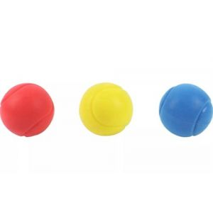 3 Balles mousse Sport and Fun Spacecourt D70