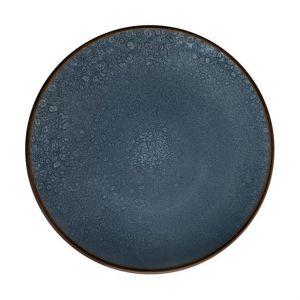 Medard de noblat Assiette à dessert en grès émaillé bleu (lot de 6) FEELING