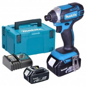 Makita DTD152RTJ - Visseuse à chocs 18V Li-Ion (2 x 5Ah) 165 Nm