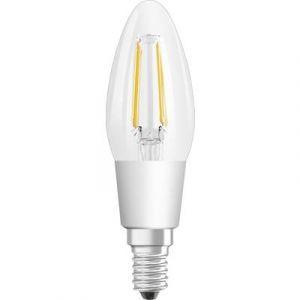 Osram Ampoule LED E14 4058075809574 en forme de bougie 5 W = 40 W blanc chaud (Ø x L) 35 mm x 116 mm EEC: classe A+ à in