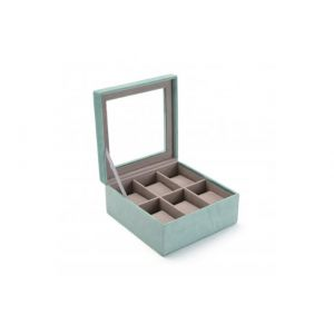 Versa : Boîte à Bijoux Velours Bleu OBAN
