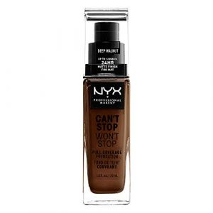 NYX Cosmetics Can't Stop Won't Stop Foundation - CSWSF10.3 Deep Walnut - 30 ml