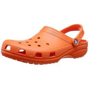 Crocs Classic, Mixte Adulte Sabots, Orange (Tangerine), 43-44 EU