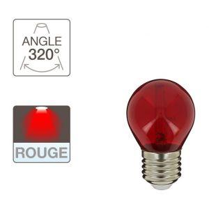 Xanlite Ampoule LED P45, culot E27, 2W cons. (N.C eq.), lumière Lumière rouge
