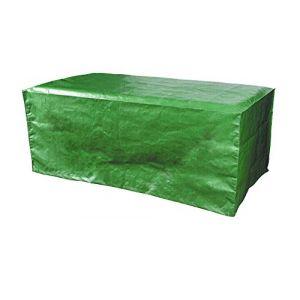 Bosmere Products Ltd P360 Protection d'écran Plus Siège 8 Table rectangulaire Housse réversible – Vert/Noir