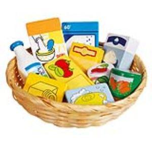 Goki 51713 - Corbeille de produits alimentaires et d'entretien